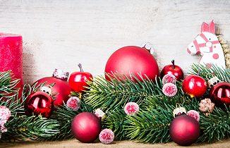 Deko für den Weihnachtsbaum