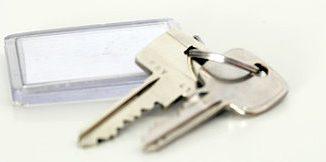 Ein Bund Schlüssel