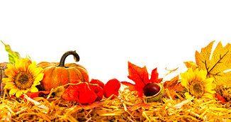 Selbstgebastelte Herbstdeko