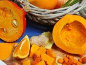 Herbstsnack geröstete Kürbiskerne