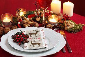 Tischdekoration zu weihnachten unsere ideen f r die weihnachtstischdeko - Weihnachtstischdeko silber ...