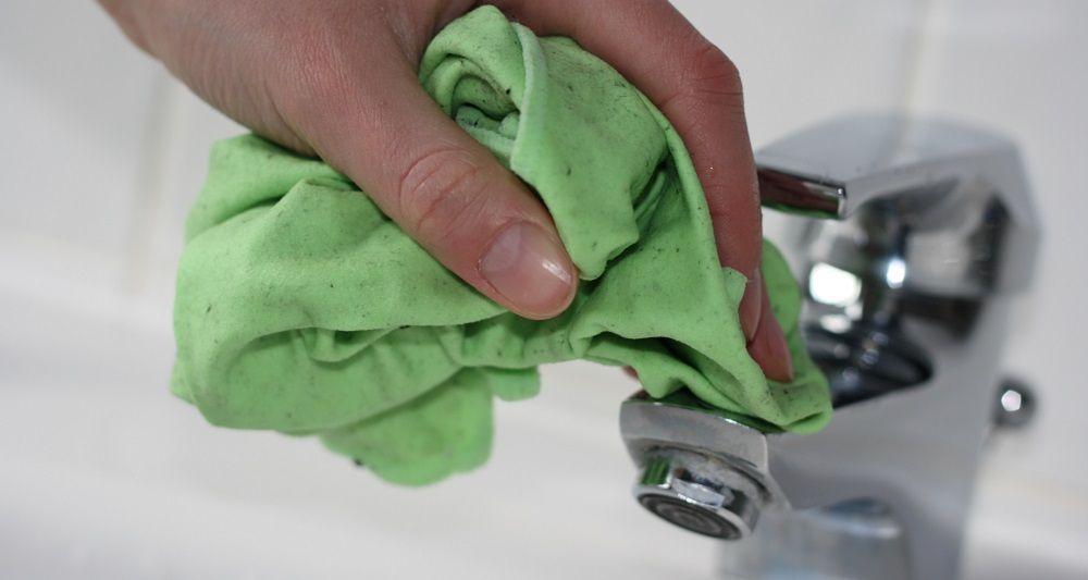 Badarmaturen reinigen, Hausmittel, Kalk