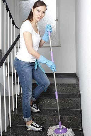 Fu b den reinigen und pflegen boden wischen - Stark verkalkte fliesen reinigen ...