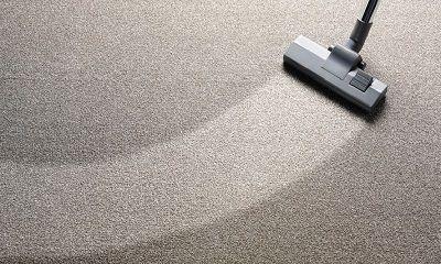 Teppich wird gereinigt