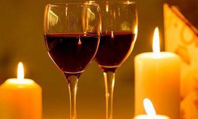 Kerzen auf dem Tisch führen häufig zu Wachsflecken